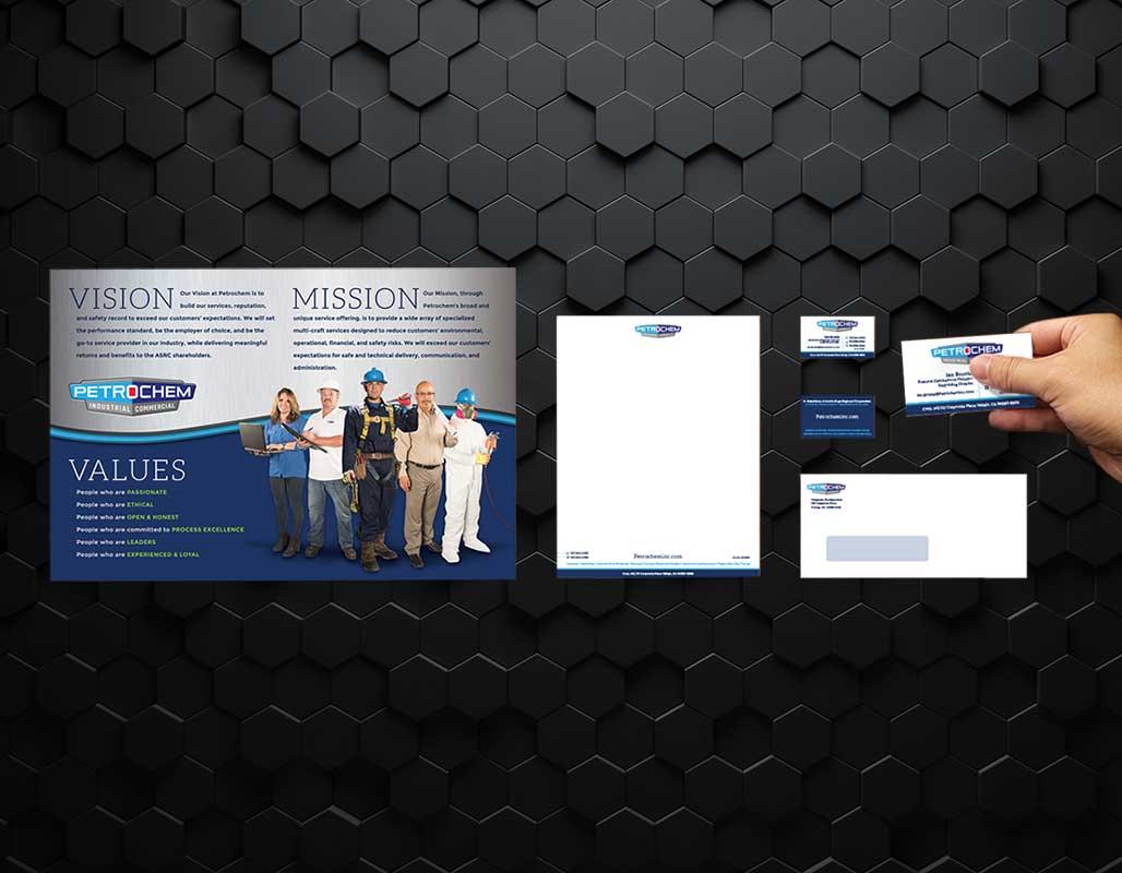 Petrochem Industrial Client - Branding