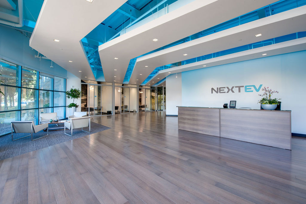 NextEV commercial photography by profile