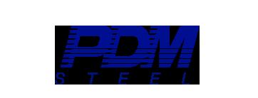 PDM Steel logo