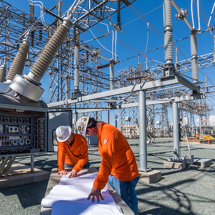 PGE Substation - photography by Profile