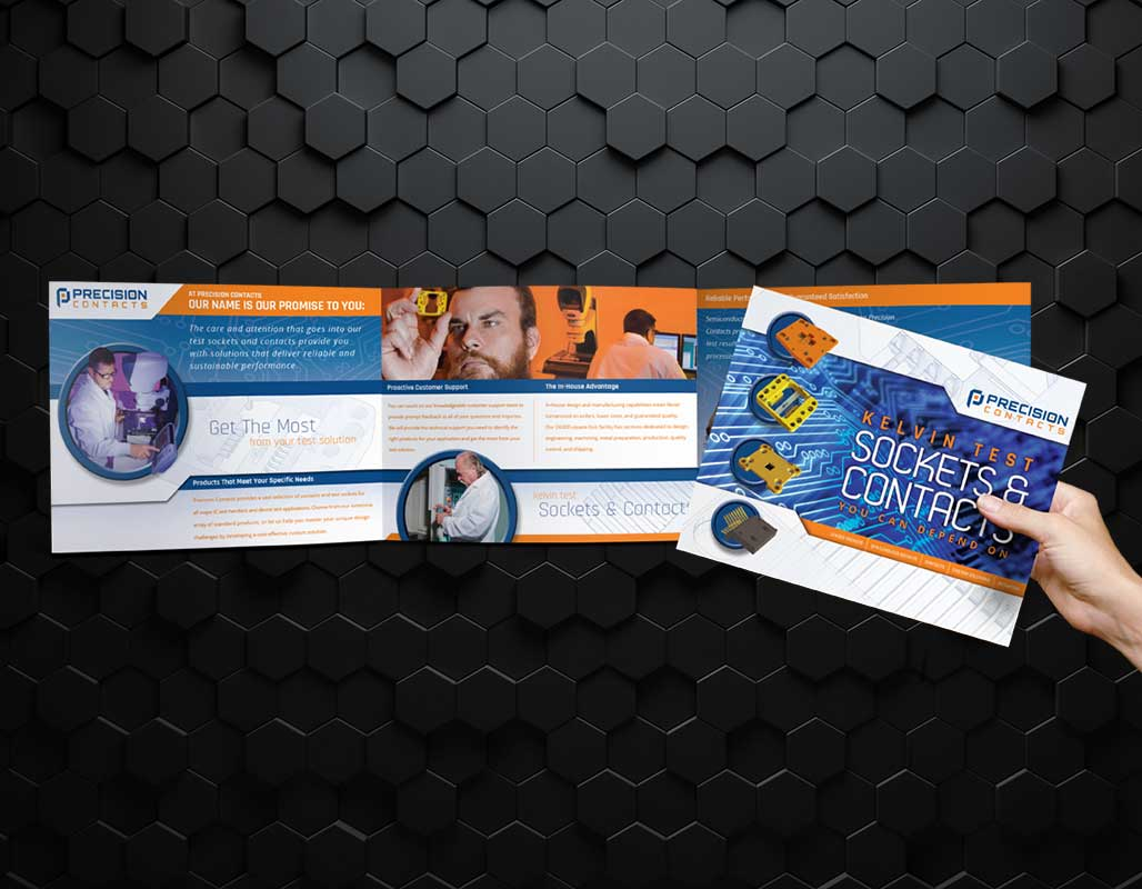 Precision Contacts Technology Client - brochure