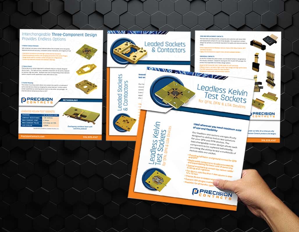 Precision Contacts Technology Client - inserts