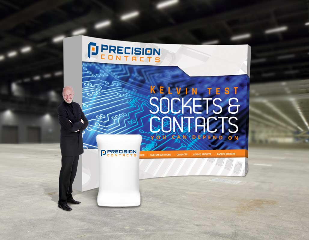 Precision Contacts Technology Client - tradeshows